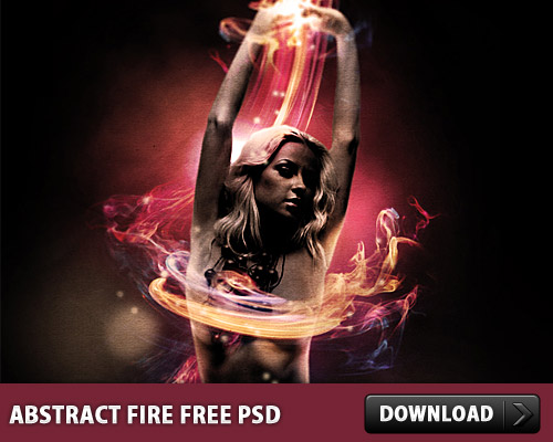 Download Abstract Fire Free PSD
