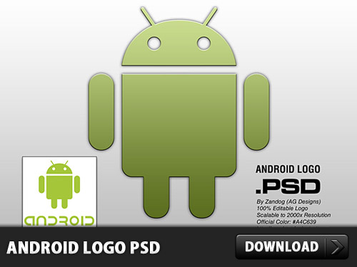 Download Android Logo PSD