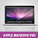 Apple MacBook Free PSD