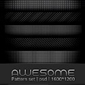 Awesome Pattern Set PSD