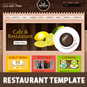 Cafe and Restaurant Template PSD