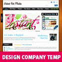 Design Company Template PSD