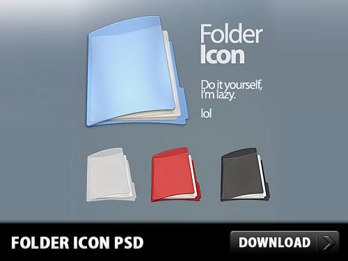 Download Free Folder Icon PSD