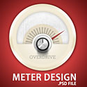 Meter Design PSD File