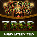 Photoshop X-MAS Layer Styles