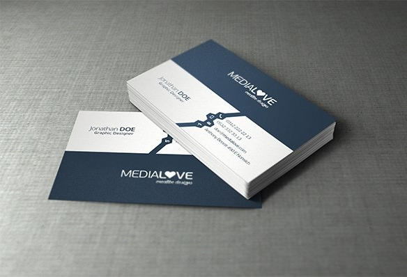 Free Business Card Mockup PSD Templates Download Download PSD - Free business card template psd
