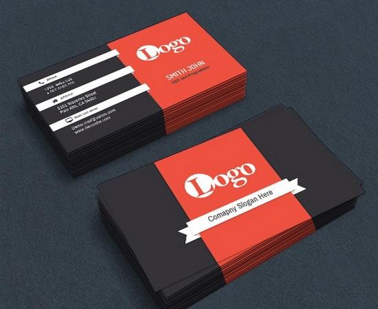 Corporate Business card (free download)