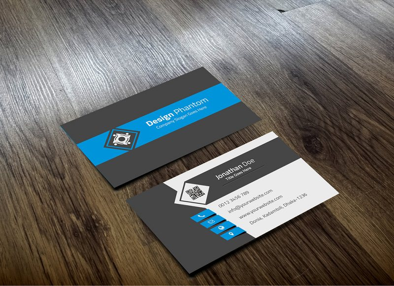 Free Business Card Mockup PSD Templates Download Download PSD - Business card design templates free