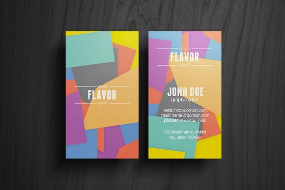 Flavor-Business-Card-Free-Download