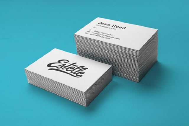 Stack Letterpress Business Cards MockUp-04575