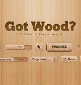 Got Wood UI Design Elements PSD Web User Interface unique ui set ui kit UI elements UI tooltips text/input fields Switches Stylish star rating set Quality PSD pack original new Modern Layered PSDs Interface Icons hi-res HD GUI Graphical User Interface gears Fresh Free PSD free download Free fav buttons Elements dropdown Download detailed Design Creative Clean Buttons box banners Badges