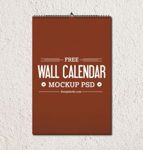 2015 Wall Calendar Template Mockup PSD Wall, unique, Template, Stylish, Quality, Paper, pack, original, Objects, new, Month, Modern, mock-up, Hanging, Graphics, Fresh, Freebie, Free PSD, Download, detailed, Design, date, Creative, Clean, Calendar, brown, 2015,