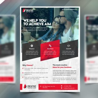 Corporate Flyer Free PSD Template