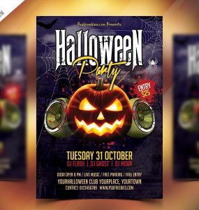 Halloween Party Flyer PSD Zombie Party, trick or treat, thriller party, thriller, themed, Theme, template psd, spooky, school party, rave, Pumpkin, PSD template, PSD, Print template, Poster, photoshop psd, party invite, party invitation card, party invitation, party flyer, Party, october, nightmare, nightclub, night party, Night Club, minimal halloween, kids party, kids halloween, Kids, invite card, invite, invitation psd, invitation, house music, horror night, Horror, Holiday, hip-hop, Haunted House party, haunted house, haunted castle, haunted, happy halloween, halloween poster, halloween party invitation, Halloween Party Flyer, halloween party, halloween Night, halloween kids party, halloween invite, halloween invitation template, halloween invitation psd, halloween invitation, halloween flyers, halloween flyer, halloween design, Halloween celebrations, Halloween carnival, halloween bash, halloween 2018, halloween 2017, Halloween, Graphics, ghost party, Ghost, full moon, Freebie, Free PSD, flyer template, flyer party, Flyer, fest, family party, Event, Drinks, drink halloween, download psd, download freebie, Download, Disco, dance music, costume party, concert, Club, celebrations, Celebration, carnival, card template, card psd, Card, Blood, birthday party, Birthday, Bar,