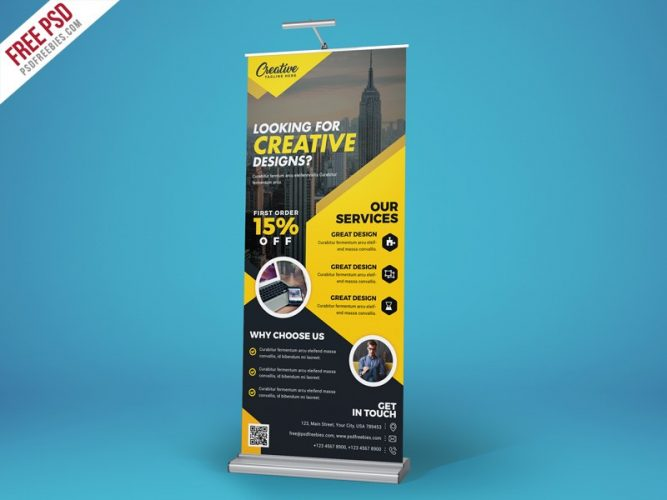 Free Creative Roll Up Banner PSD Template, stylist, Style, Standy PSD, standy, stand display, stand, Signboard, sign board, Service, Rollup Freebie, Rollup Banner PSD, rollup banner, rollup, roll-up banner, roll up simple banner, roll up banners, roll up banner template, roll up, road banner, PSD template, Promotion, Professional, product display, Print template, print ready, Print, presentation template, Premium, Photoshop, photographer, Outdoor, multipurpose roll up, multifunction, multi-function, Modern, marketing, make up, Graphic, Free Rollup PSD, Free PSD, Free, display, designer, customize, creative banner, Creative, corporate. shape, Corporate Rollup banner, corporate roll up, corporate banner, Corporate, Commercial, CMYK psd, cmyk, business Rollup banner, business roll up, business banner, Business, Billboard Template, Billboard, banner template, Banner, Advertising, advertisement, ad,