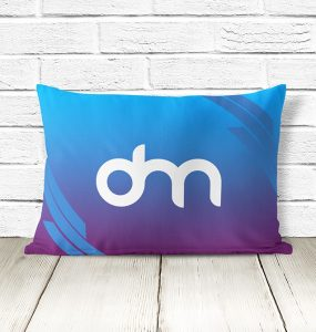 Free Pillow Mockup PSD Template