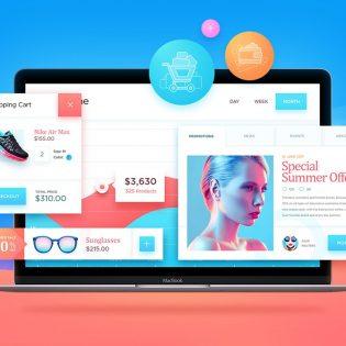 Free eCommerce UI Kit PSD