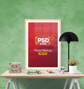 Free Poster Frame Mockup PSD workstation, workspace, wooden photo frame, wooden frame mockup, wooden frame, Wall Poster Mockup, wall poster, wall frame mockup, wall frame, Wall, vertical photo frame, vertical frame, table frame, Table, Showcase, resume mockup, Realistic, psdgraphics, PSD Mockups, psd mockup, PSD, poster mockup, poster frame, Poster, picture mockup, picture frame mockup, Picture Frame, Picture, photorealistic, photo realistic, photo mockup, photo frame mockup, Photo Frame, Photo, mockups, mockup template, mockup psd, Mockup, mock-up, Lamp, indoor, Freebie, Free PSD, free mockups, free mockup, Free, frame mockup, Frame, flyer mockup psd, flyer mockup, Flyer, Download, Desk,