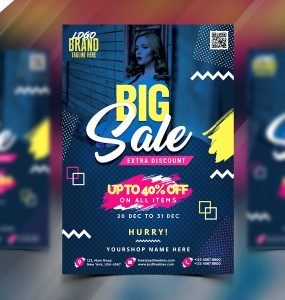 Sale Flyer Template PSD