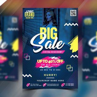 Sale Flyer Template PSD