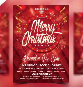 Free Christmas Party Flyer PSD xmas flyer, Xmas, X-MAS, Winter, Template, Snow, season, santa claus, Santa, redsanity, Red, PSD, Print, Poster, party invitation, party flyer template, party flyer, Party, NYE party, nye, nightclub, night party, Night Club, New Year's Eve, new year poster, new year party, new year invitation, new year flyer, new year 2018, New Year, Music, merry christmas, invitation card, invitation, Holidays, Holiday, Glossy, gifts, gift card, Gift, Fresh, Free PSD, flyer template, flyer psd, flyer design, Flyer, festival, event poster, Event, Entertainment, electronic, Drinks, Disco, december, club party, Club, christmas template, christmas poster psd, Christmas poster, christmas party flyer, christmas party, christmas invitation, christmas flyer template, christmas flyer psd, christmas flyer, christmas event, christmas eve, Christmas Celebration, christmas card, christmas background, christmas 2017, Christmas, Celebration, 25th december, 25 december, 25 dec,