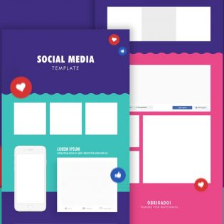 Free Social Media Post Template PSD