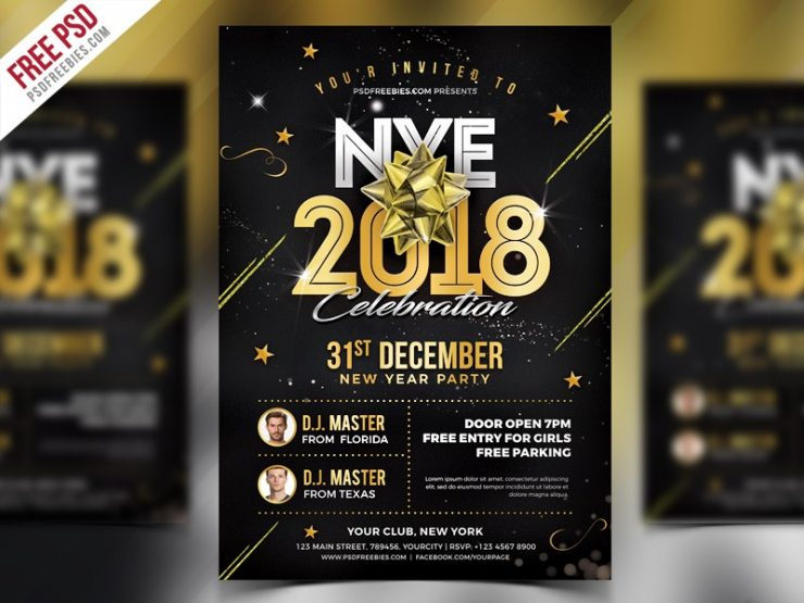 New Year 2018 Flyer Template PSD vip party, unique, Template, Simple, Shapes, psd flyer, PSD, Professional, Print template, Print, premium flyer, Poster, postcard, party nye 2018, party flyer template psd, party flyer template, party flyer psd, party flyer, Party, NYE party, nye flyer template, nye flyer psd, nye flyer, NYE 2018, nye, nightclub, Night Club, Night, new years, New Year's Eve, New Year Template, new year party flyer, new year party facebook, new year party, new year night, new year flyer psd, new year flyer, new year eve flyer, new year eve, new year bash flyer, new year bash, new year 2018, New Year, new, Modern, Minimal, merry christmas, merry, luxury new year, Luxury, invitation card, invitation, holiday flyer, Holiday, Happy New Year, Happy, Graphic, Golden, gold new year, Gold, glamour, glam, Gift, Freebie, Free PSD, free party flyer, free flyer template, free flyer psd, free flyer, flyer template psd, flyer template, flyer psd, Flyer, exclusive party, Event, eve, entertaiment, elegant, download free flyer, download flyer psd, Download Flyer, Download, DJ, disco flyer, dinner, Design, decorations, december, Dark, Dance, colors, Colorful, club party flyer, club flyer, Club, Classy, city, Christmas, chinese party, chinese nye, chinese new years, chinese new year, chinese, Celebration, celebrate, Cards, Card, Black, bash, Banner, backgrounds, Background, announcement, anniversary party, anniversary, advertisement, Abstract, a4, 2018 party, 2018 new year party,