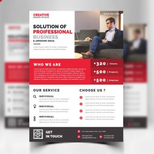 Free Business Promotion Flyer Template PSD