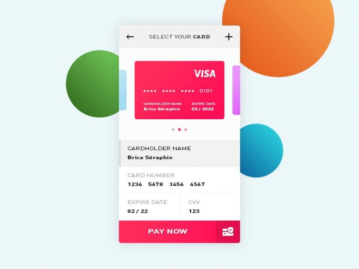 Credit Card Payment App UI PSD Visa, UX, User Interface, unique, ui set, ui psd, ui kit, UI elements, UI, transfer, Template, Stylish, shopping ui, shopping app ui, shopping app, Shopping, Services, Resources, Quality, Psd Templates, PSD Sources, psd resources, PSD images, psd free download, psd free, PSD file, psd download, PSD, Portfolio, Photoshop, Personal Portfolio, Personal, paypal, payment ui, payment screen, payment gateway, payment form, Payment, pay, original, online shopping, one page, new, money transfer, Money, Modern, mobile app ui, material design, Interface, GUI Set, GUI kit, GUI, Green, Graphics, Graphical User Interface, Fresh, Freebies, Freebie, free website tempalte, free website design, Free Resources, Free PSD, free download, Free, Form, flat style, Flat Design, Flat, Finance, Elements, ecommerce payment, ecommerce application, ecommerce app, eCommerce, download psd, download free templates, download free psd, Download, Design Resources, Design Elements, credit card ui, credit card payment, credit card pay, credit card app ui, Credit Card, Creative, Colorful, Clean, checkout screen, checkout, check out, card pay, Buy, banking application, banking, application ui, Application, app ui psd, app ui, app screen psd, app screen, App, agencies, Adobe Photoshop,