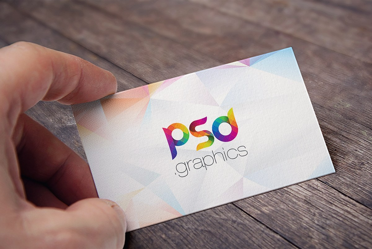 Free Business Card Mockup PSD Download - Download PSD