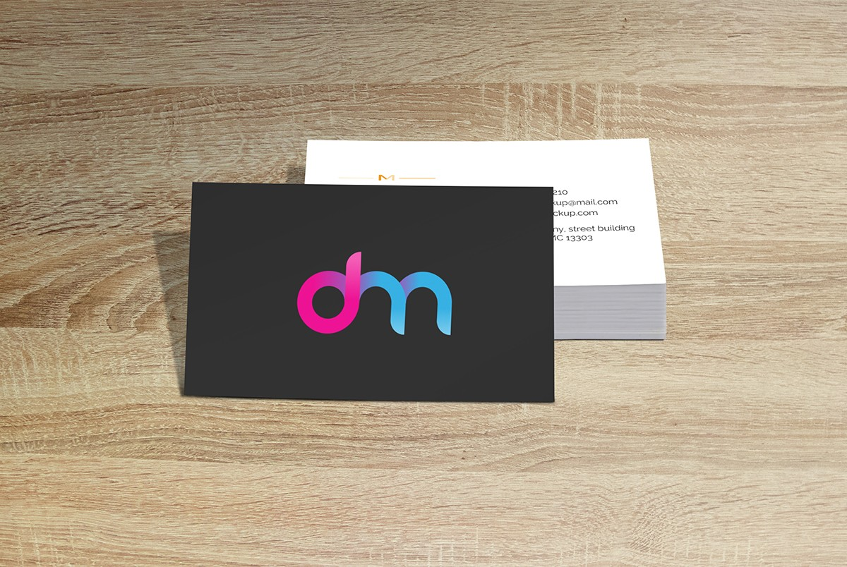 Free business card mockup template download psd free business card mockup template reheart Choice Image