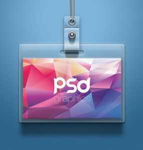 Office ID Card Mockup PSD