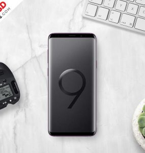 Samsung Galaxy S9 Plus Mockup