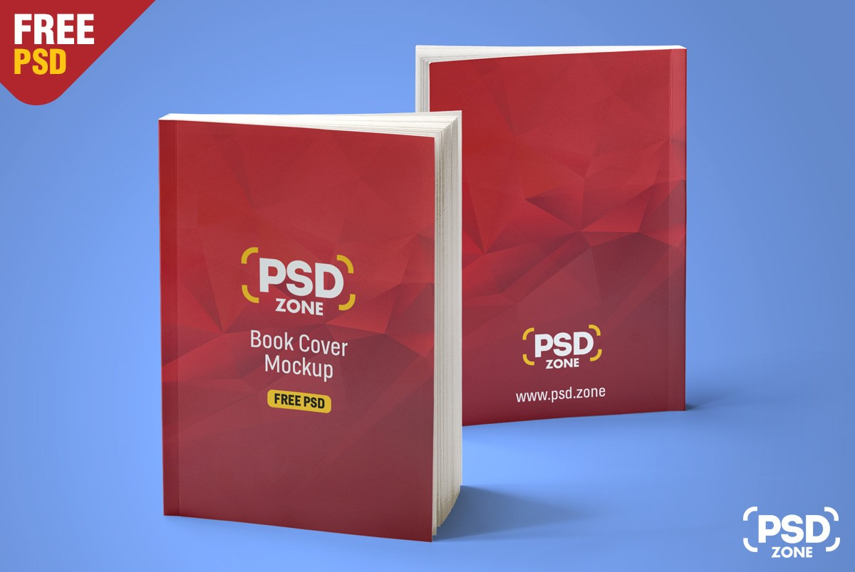 Book Cover Template Psd Free ~ Free book cover mockup psd download