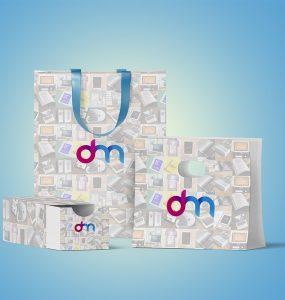 Shopping Branding Mockup PSD