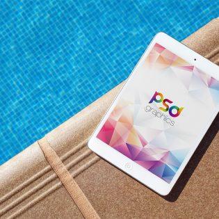 iPad Mockup Free PSD