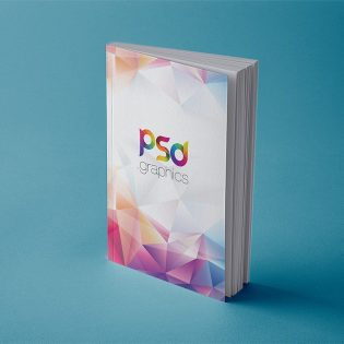 Book Cover Mockup PSD Template