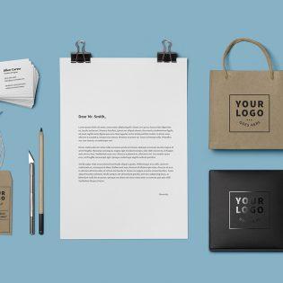 Brand Identity Mockup PSD Template