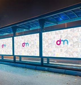 Bus Stop Billboard Mockup Template PSD