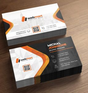 Business Card Free PSD Template