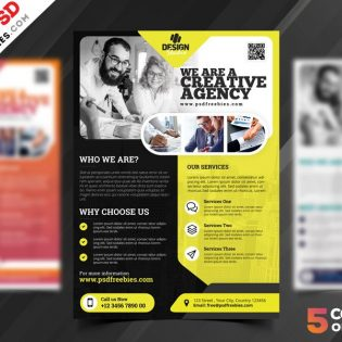 Creative Agency Flyer Template PSD