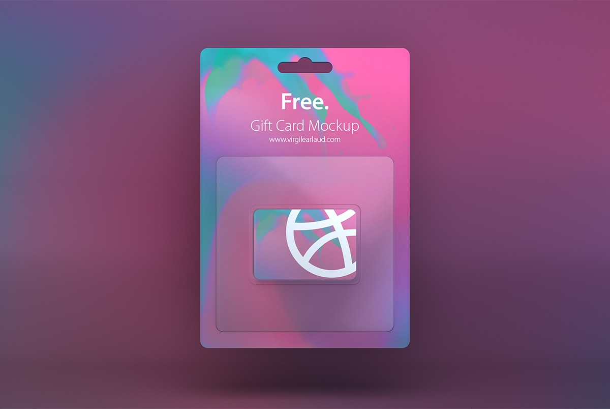 free gift card mockup psd download download psd