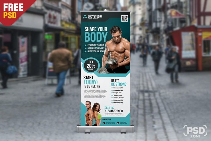 Free Gym Roll Up Banner PSD yoga center, yoga, workout, woman sport, woman gym, wellness, weightlifting, Training Flyer, training, trainers, trainer, train, Template, strong, stand banner, stand, sports flyer, Sports, sport roll up, sport flyer, sport club, sport banner, sport, spa flyer, spa, Showcase, rollup banner, rollup, roll-up banner, roll up, PSD template, PSD, promotions, Promotion, promo, Professional, Print template, print ready, Print, Premium Freebies, Premium, Poster, Photoshop, personal trainer, Outdoor, muscles, muscle, Multipurpose, multi-purpose, modern flyer, man sport, man gym, magazine ad, lift, leaflet, Layered, healthy, Health Club, gym template, gym sport template, gym services, gym rollup banner, gym rollup, gym roll-up, gym roll up template, gym roll up design, gym roll up banner, gym psd, gym flyer, gym fitness, gym design template, gym coach, gym base, gym banner design, gym banner, gym, generic, freebies psd templates, Freebie, free psd graphics, Free PSD, free flyer, flyer template, Flyer, fitness training, fitness signage, fitness rollup, fitness roll-up, fitness psd template, fitness pamphlet, fitness leaflet, fitness flyers, fitness flyer template, fitness flyer, fitness club roll up banner, fitness club banner, Fitness Club, fitness center, fitness Banner, fitness, fit roll up, fit, Fashion & Beauty, exercise, design templates, design facebook cover, Design, Cross Fit, Creative Website PSD, Creative timeline cover, creative timeline, creative theme, creative template, Creative, Corporate, clean sport template, clean flyer, center gym, business template, Business, builder, bodybuilding, body studio, body shape, body gym, body builng, body building, body, boby shpe, Black, Banner, athletics, aerobics, Advertising, advertisement, ad,