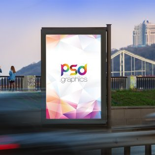 Free Outdoor Billboard Mockup PSD