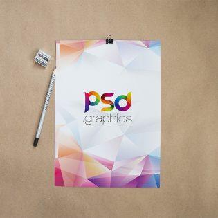Free Resume CV Mockup Template PSD