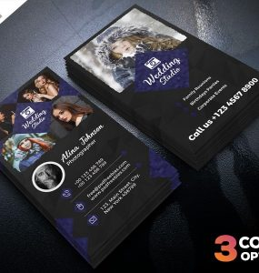 Photographer Business Card Template PSD