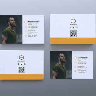 Simple Business Card Template PSD