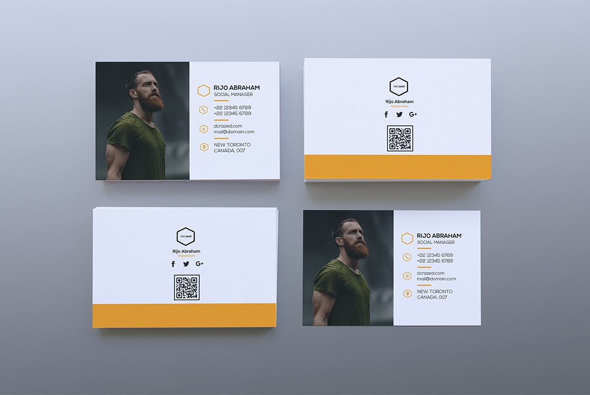 simple business card template psd download download psd