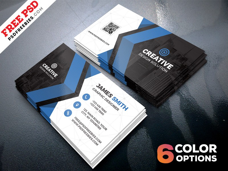 Creative business card template download download psd creative business card template accmission Gallery