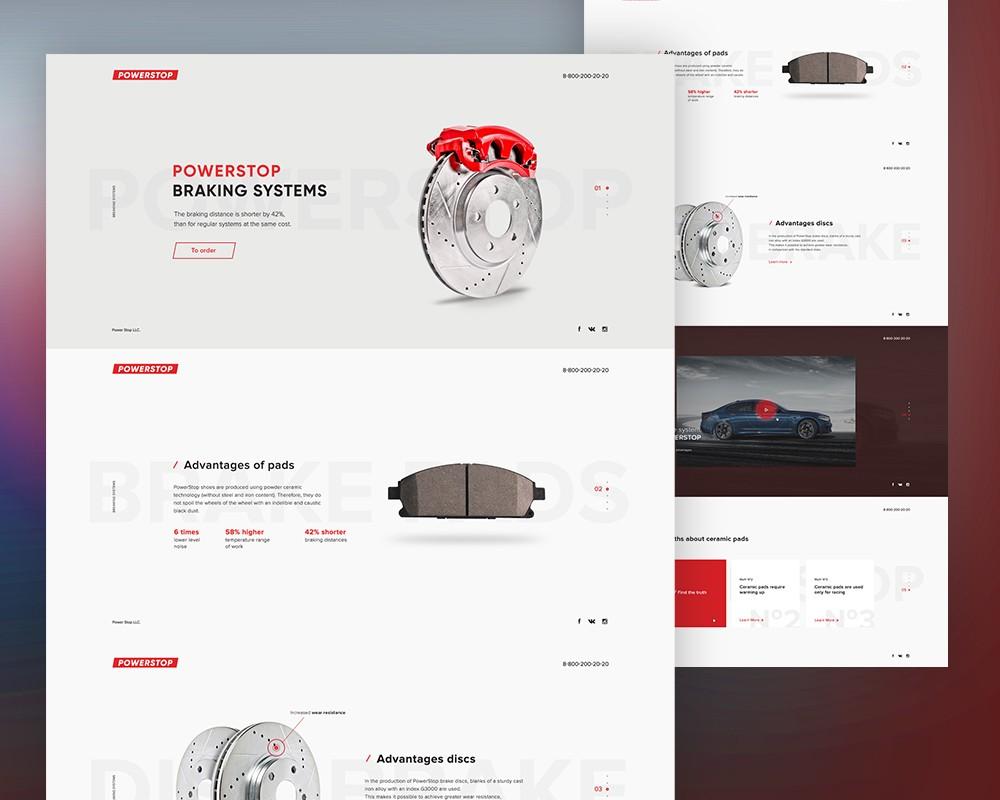 product website landing page template psd download download psd. Black Bedroom Furniture Sets. Home Design Ideas